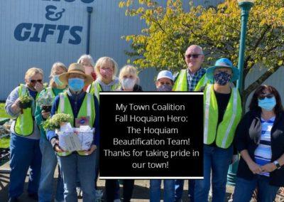 The Hoquiam Beautification Team – Fall 2020